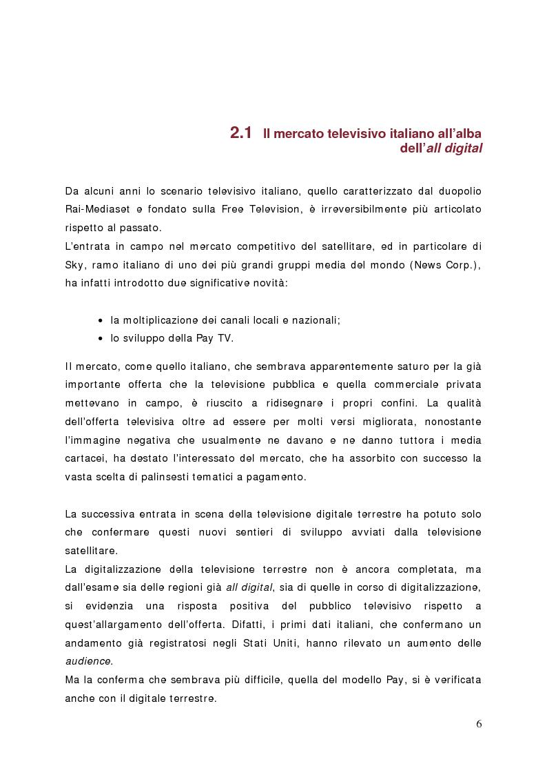Anteprima della tesi: Surfing on TV. Modelli di Business per la Connected Television, Pagina 5