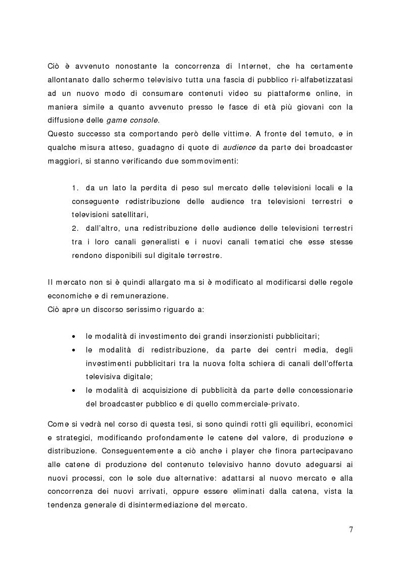 Anteprima della tesi: Surfing on TV. Modelli di Business per la Connected Television, Pagina 6