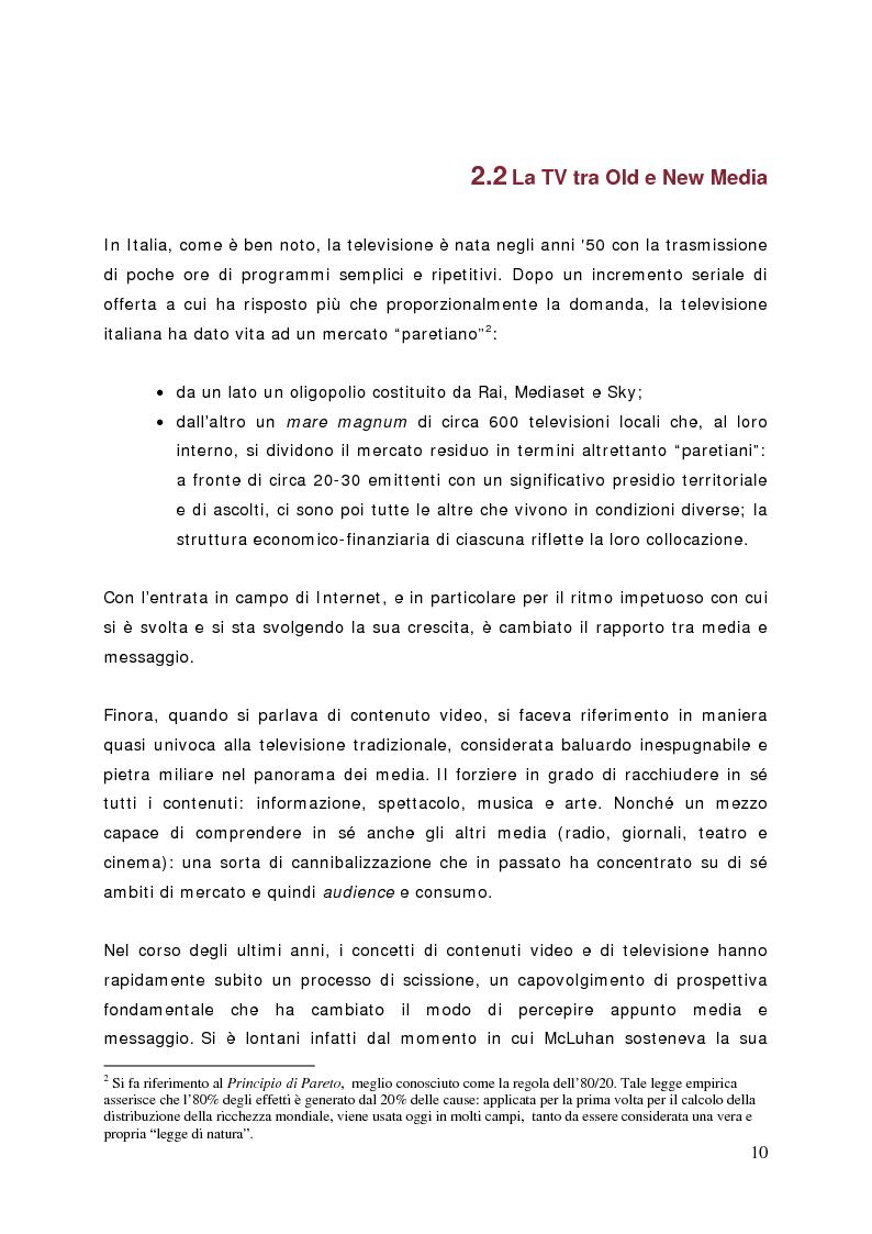 Anteprima della tesi: Surfing on TV. Modelli di Business per la Connected Television, Pagina 9