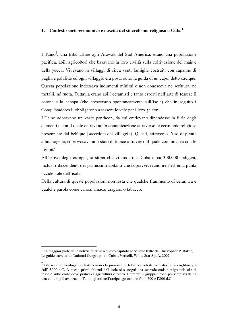 Anteprima della tesi: Il Sincretismo e l'opera di Nicolàs Guillén: analisi antropologico-letteraria di ''Motivos del Son'' e ''Sòngoro Cosongo'', Pagina 2