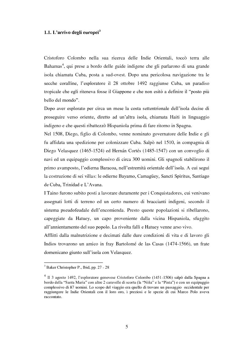 Anteprima della tesi: Il Sincretismo e l'opera di Nicolàs Guillén: analisi antropologico-letteraria di ''Motivos del Son'' e ''Sòngoro Cosongo'', Pagina 3