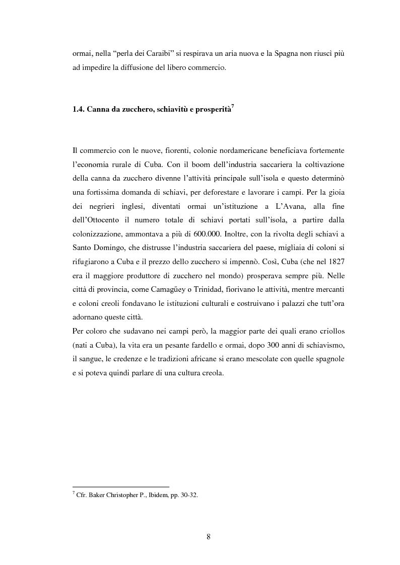 Anteprima della tesi: Il Sincretismo e l'opera di Nicolàs Guillén: analisi antropologico-letteraria di ''Motivos del Son'' e ''Sòngoro Cosongo'', Pagina 6