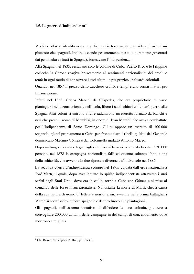 Anteprima della tesi: Il Sincretismo e l'opera di Nicolàs Guillén: analisi antropologico-letteraria di ''Motivos del Son'' e ''Sòngoro Cosongo'', Pagina 7