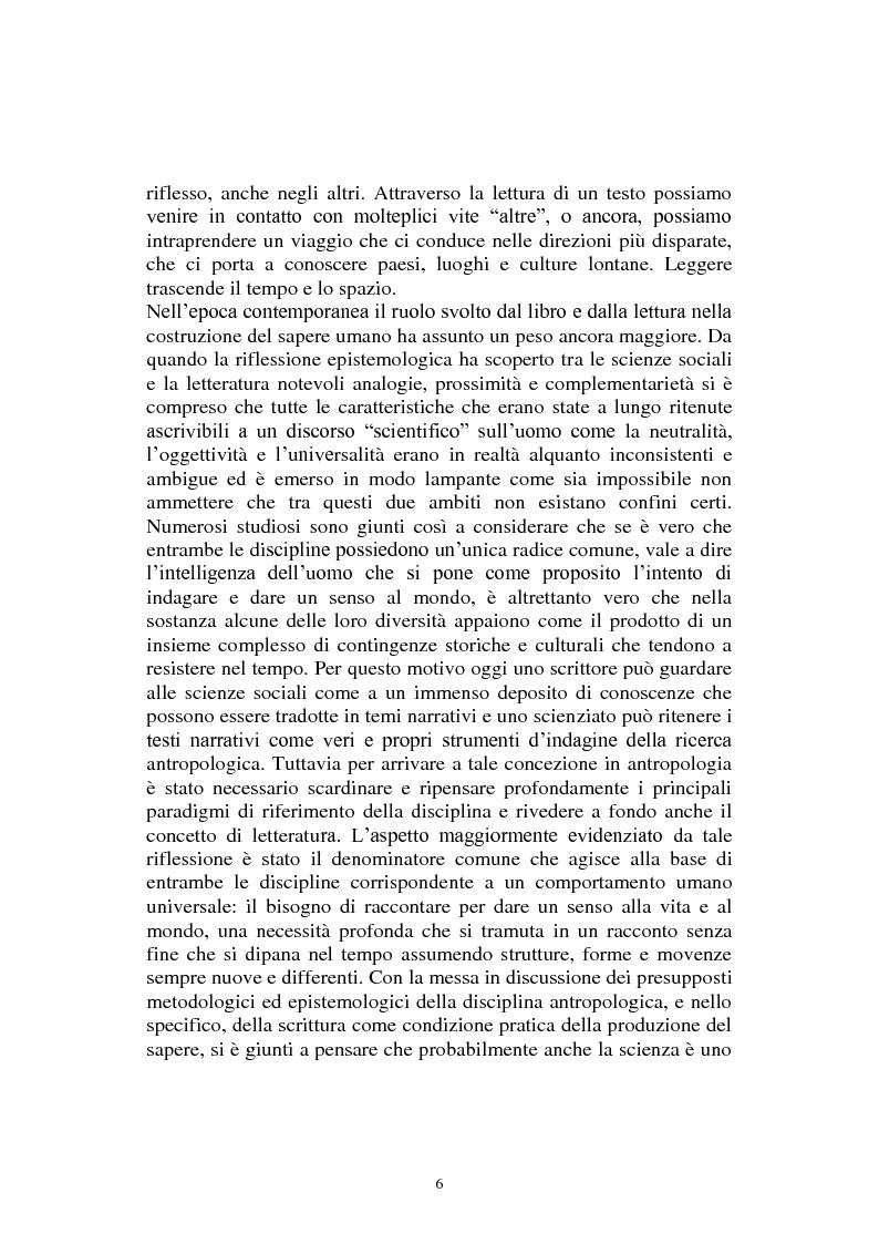 Anteprima della tesi: Esistenze in bilico tra luoghi e non luoghi. Uno studio antropologico sul senso del luogo attraverso il romanzo ''Antigua, vita mia'' di Marcela Serrano, Pagina 3