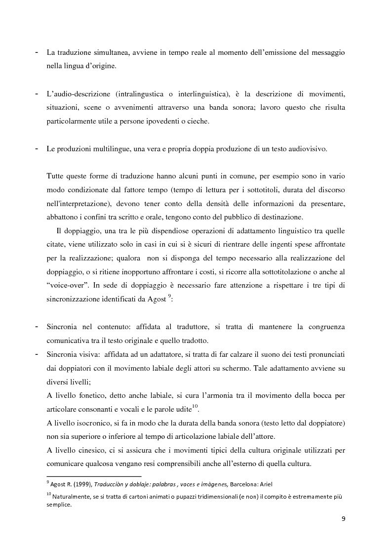 Anteprima della tesi: La traduzione audiovisiva nell'ambito videoludico, Pagina 6