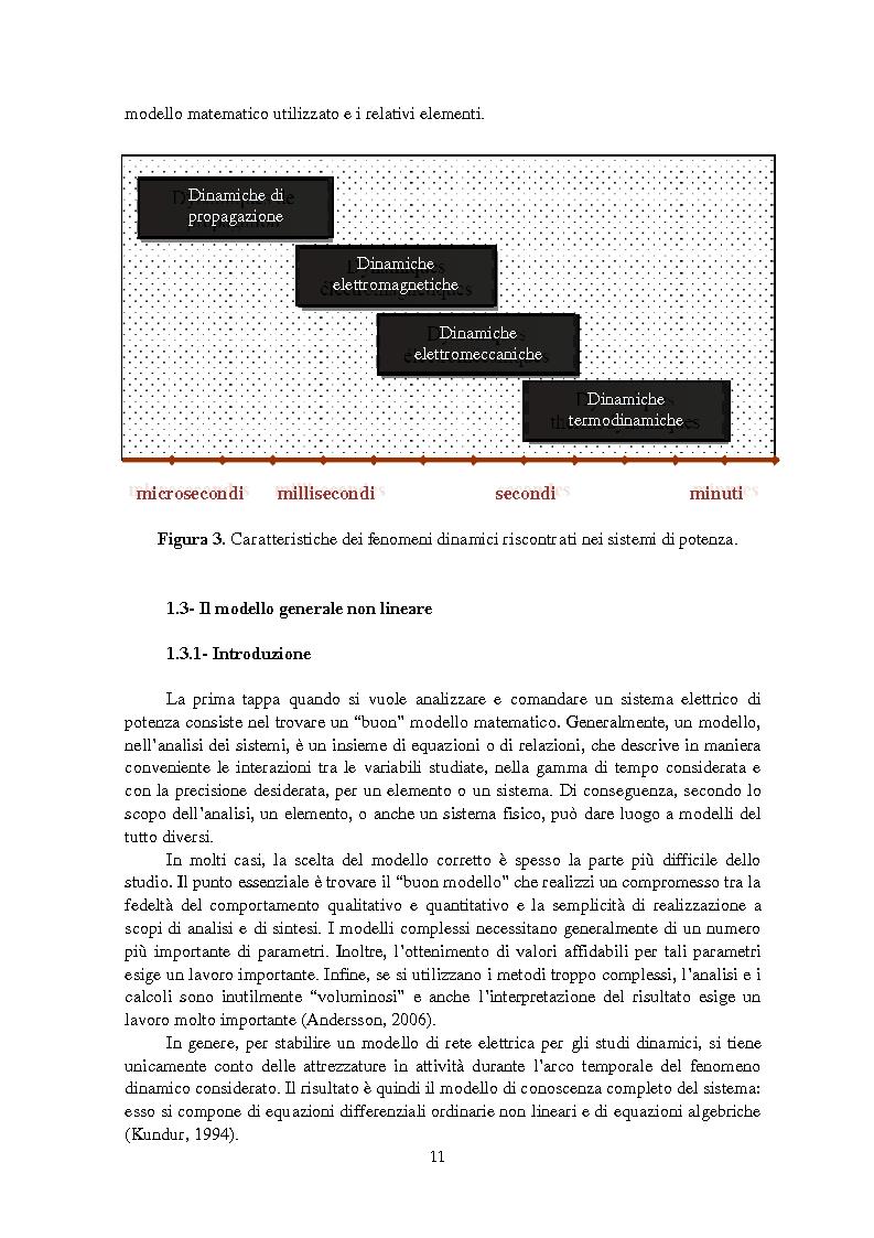 Anteprima della tesi: Studio della stabilità a piccole perturbazioni nelle grandi reti elettriche: ottimizzazione del regolamento con un metodo metaeuristico, Pagina 10
