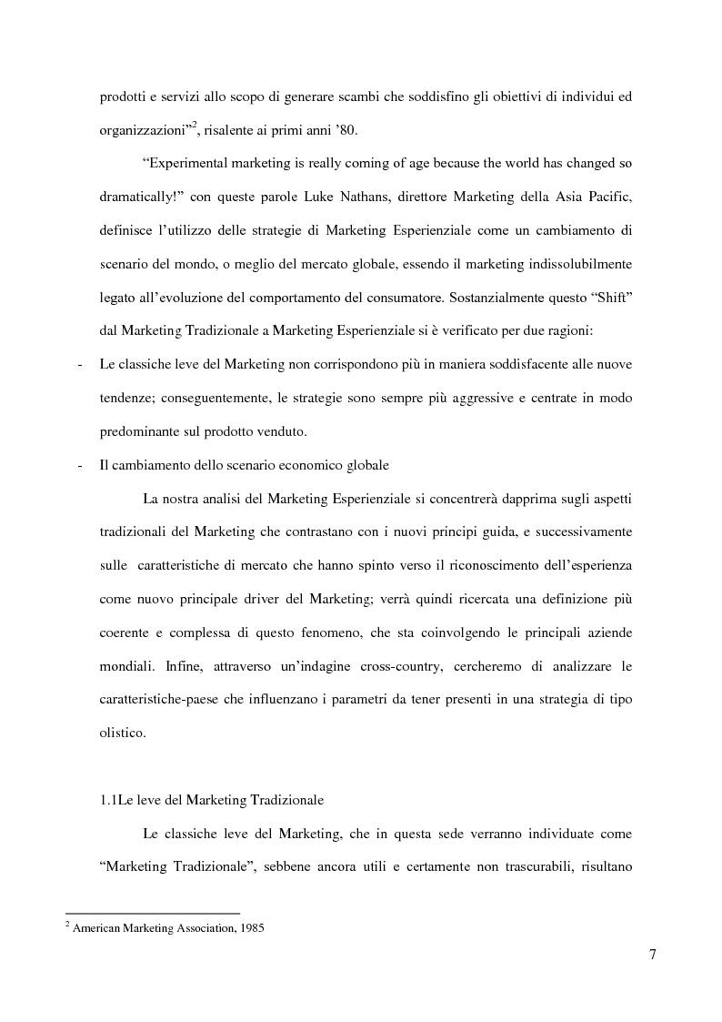Anteprima della tesi: Marketing Esperinziale cross-country analisys. caso: L'Oréal in India, una cosmesi plasmata sulla diversità del mondo., Pagina 3