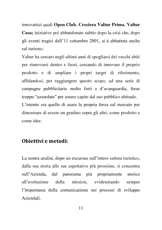 Anteprima della tesi: L'evoluzione della comunicazione esterna: il caso Valtur, Pagina 3