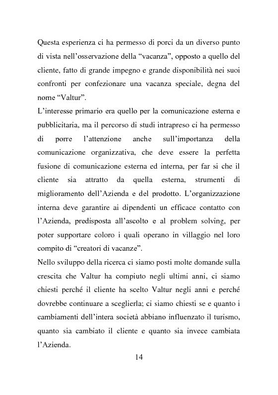Anteprima della tesi: L'evoluzione della comunicazione esterna: il caso Valtur, Pagina 6
