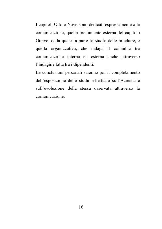 Anteprima della tesi: L'evoluzione della comunicazione esterna: il caso Valtur, Pagina 8