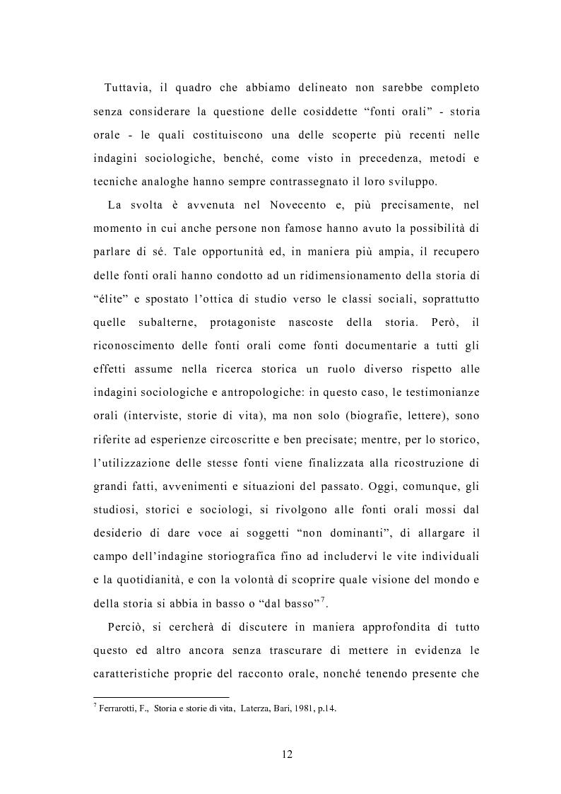 Anteprima della tesi: Condividere storie. Il racconto auto-bio-grafico in contesti educativi, Pagina 10