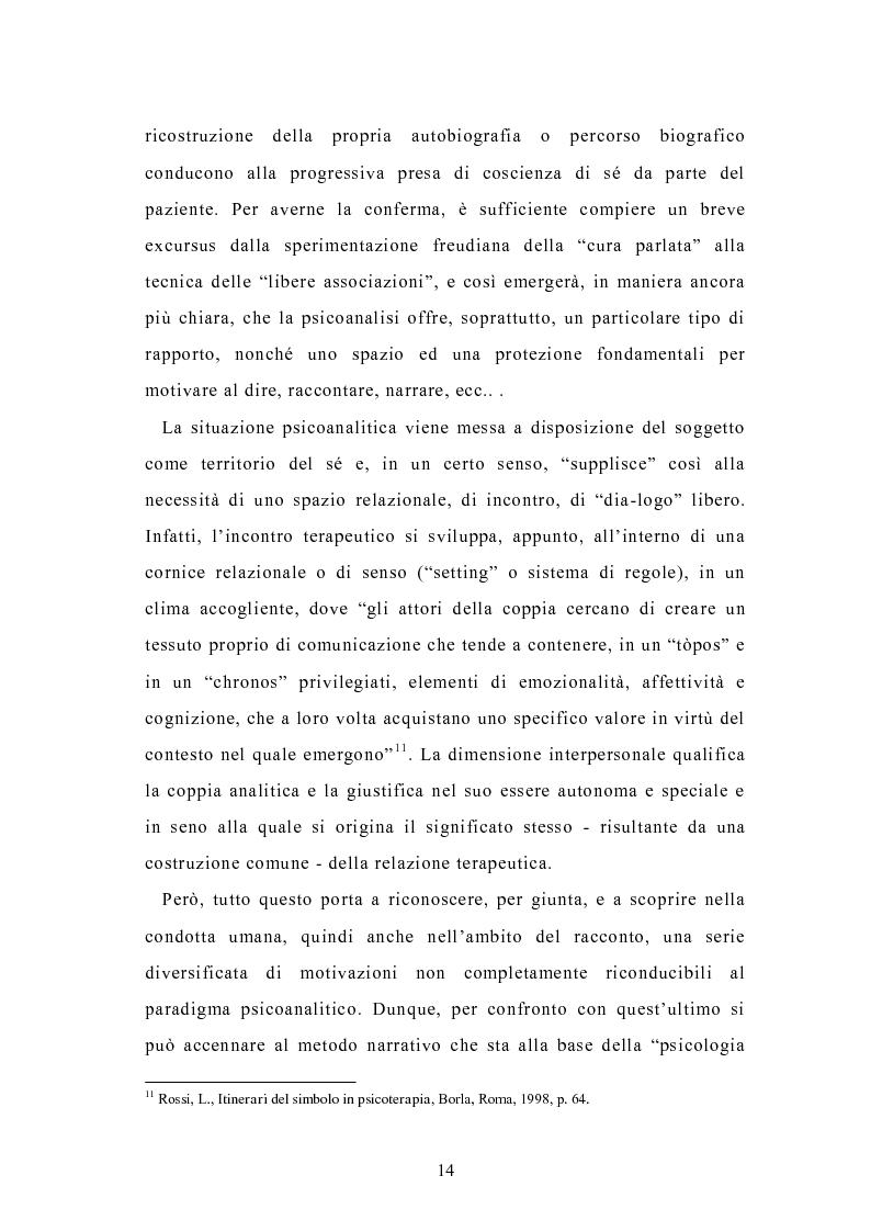 Anteprima della tesi: Condividere storie. Il racconto auto-bio-grafico in contesti educativi, Pagina 12