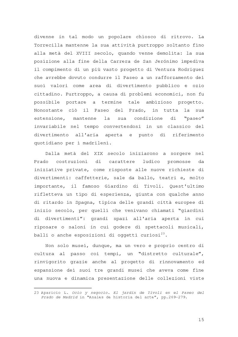 Anteprima della tesi: Intorno al Paseo del Prado: cronaca e storia di un'esperienza museologica, Pagina 12