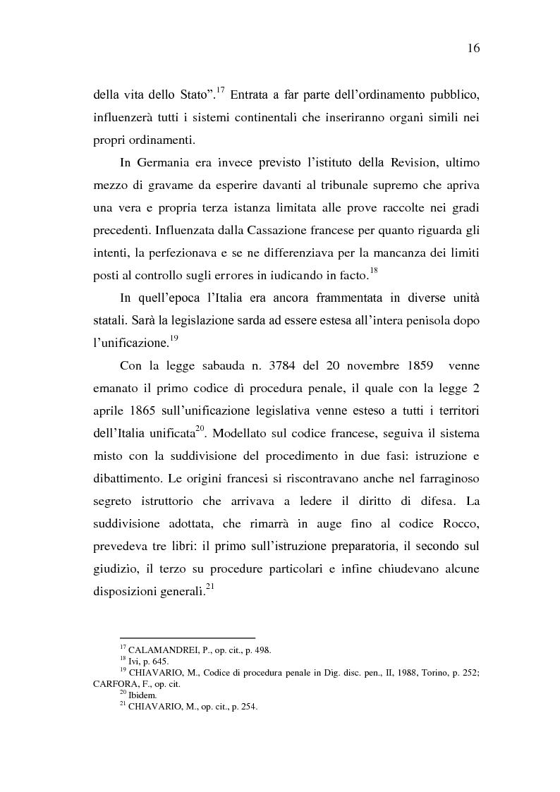 Anteprima della tesi: Sistema Accusatorio ed Impugnazioni, Pagina 12