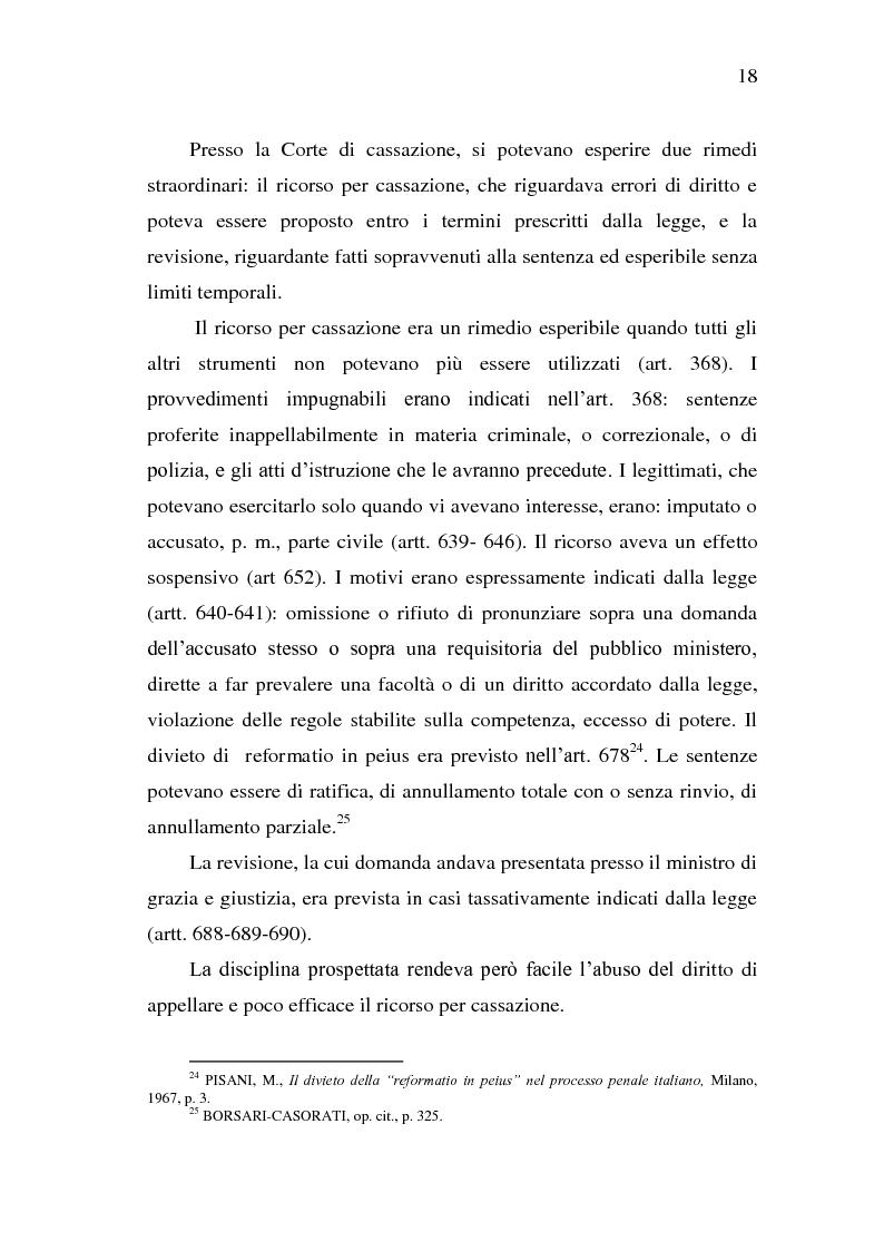 Anteprima della tesi: Sistema Accusatorio ed Impugnazioni, Pagina 14