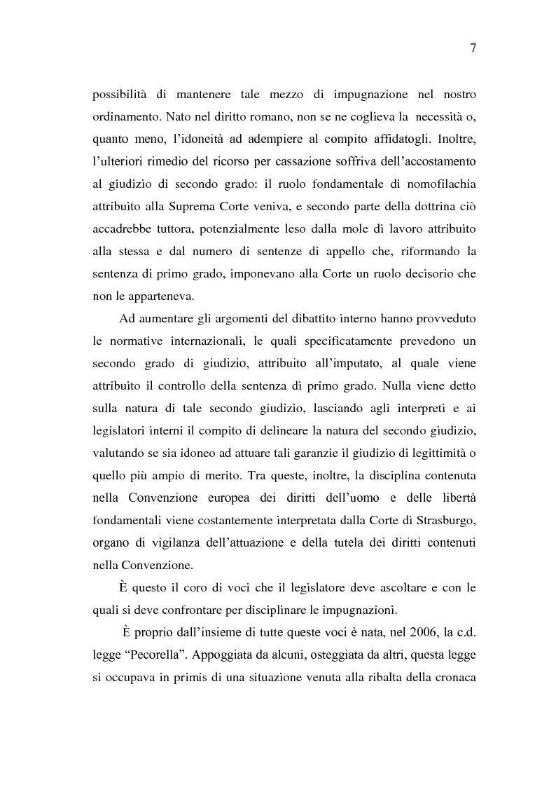 Anteprima della tesi: Sistema Accusatorio ed Impugnazioni, Pagina 3