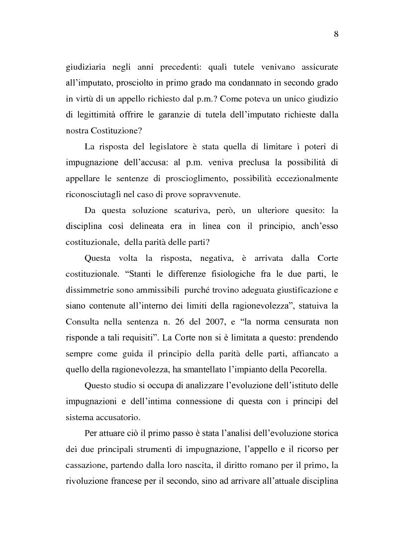 Anteprima della tesi: Sistema Accusatorio ed Impugnazioni, Pagina 4