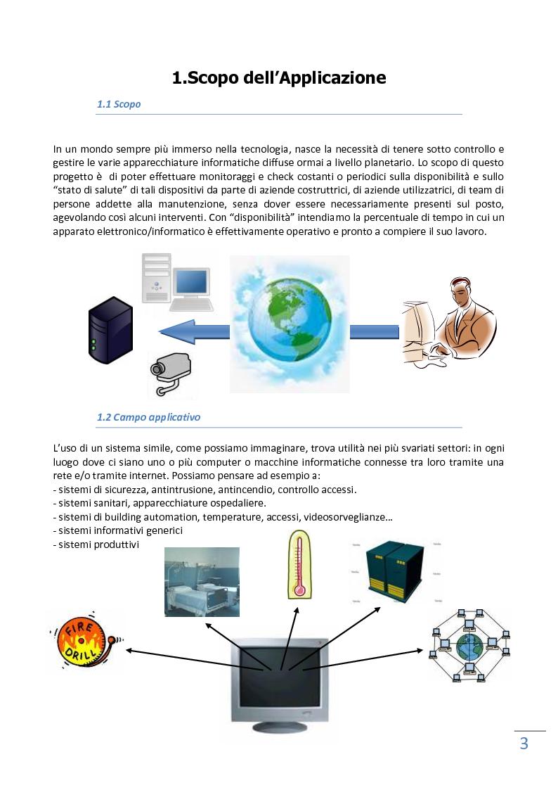 Anteprima della tesi: Un sistema di controllo remoto di sistemi eterogenei, Pagina 2