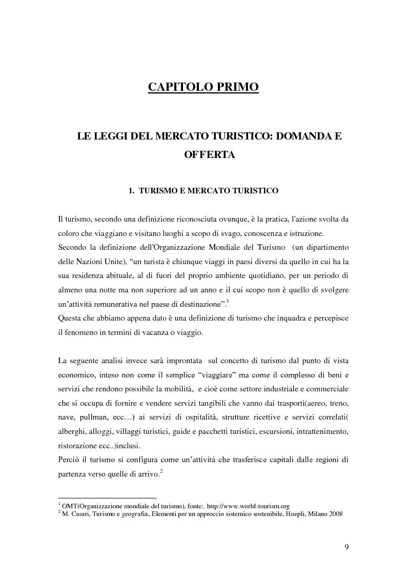 Anteprima della tesi: Criticità e potenzialità di sviluppo del settore turistico in provincia di Latina, Pagina 5