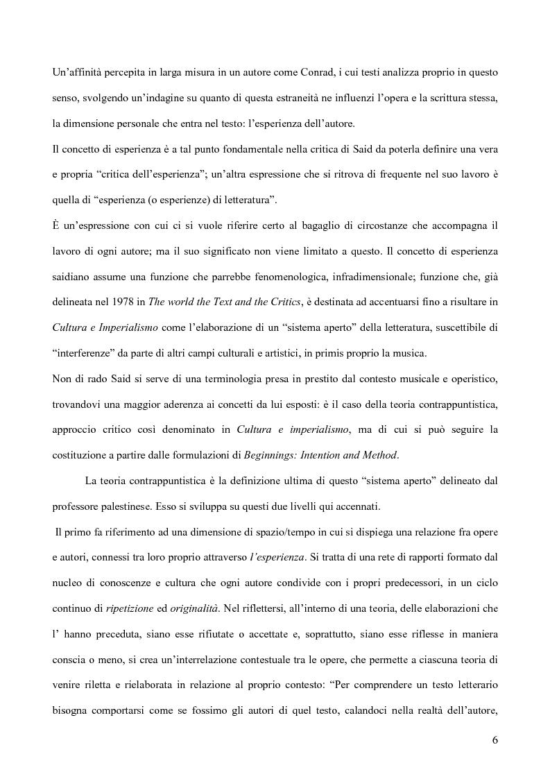 Anteprima della tesi: Il discorso dell'Altro. L'opera critica di Edward W. Said nel segno di Foucault, Pagina 7