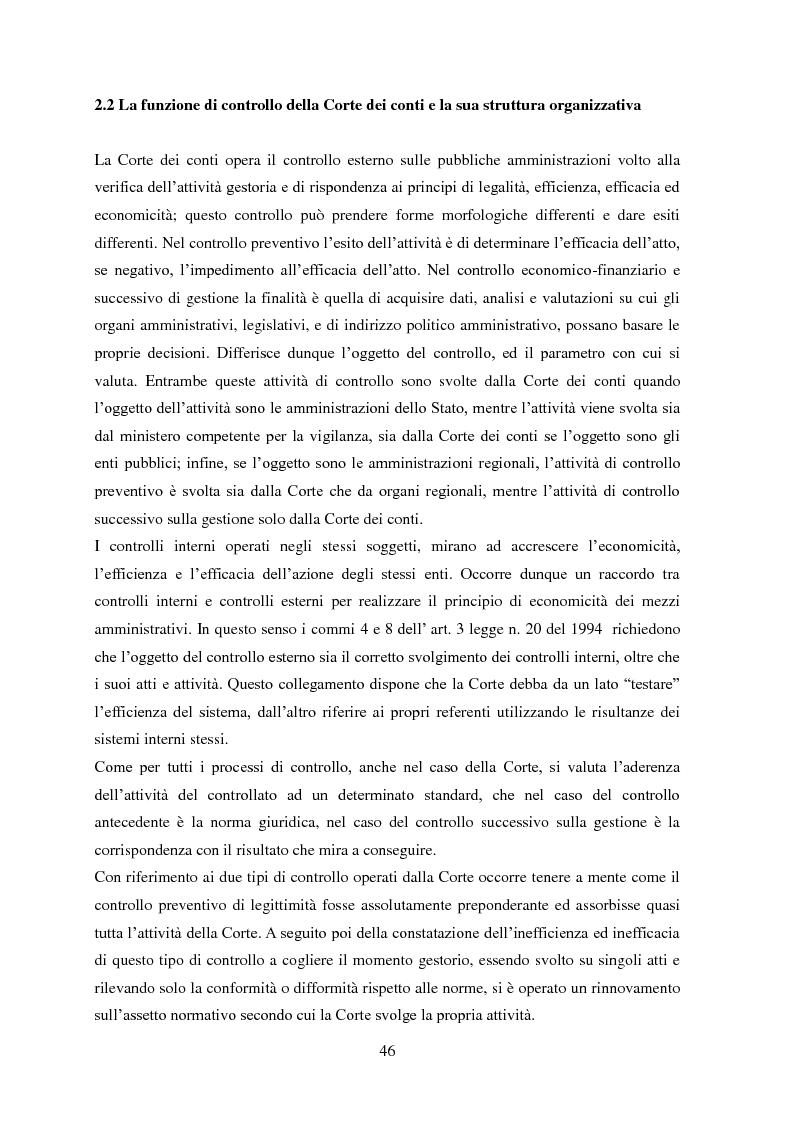 Anteprima della tesi: L'Audit Society in Italia. Analisi del sistema dei controlli della Corte dei conti, del Sistema sanitario nazionale e del Sistema universitario, Pagina 10
