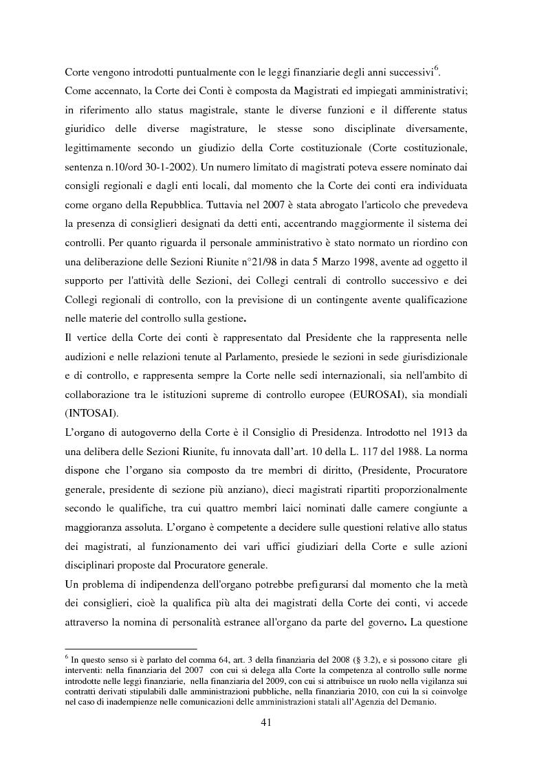Anteprima della tesi: L'Audit Society in Italia. Analisi del sistema dei controlli della Corte dei conti, del Sistema sanitario nazionale e del Sistema universitario, Pagina 5