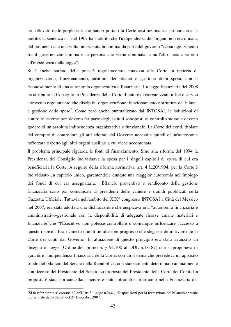 Anteprima della tesi: L'Audit Society in Italia. Analisi del sistema dei controlli della Corte dei conti, del Sistema sanitario nazionale e del Sistema universitario, Pagina 6