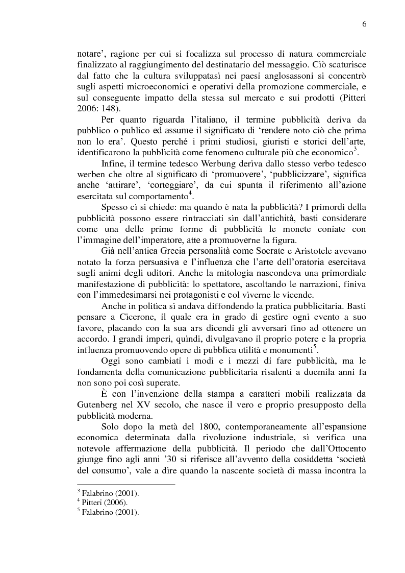 Anteprima della tesi: La comunicazione pubblicitaria online in tedesco e italiano: il caso BMW, Pagina 7