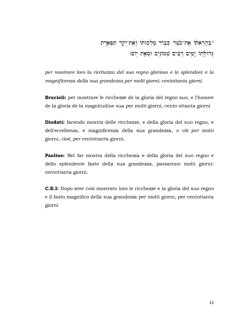 Anteprima della tesi: Il libro di Ester, Pagina 12