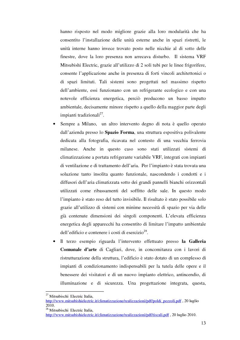 Anteprima della tesi: L'uso appropriato dell'energia nei musei, Pagina 11