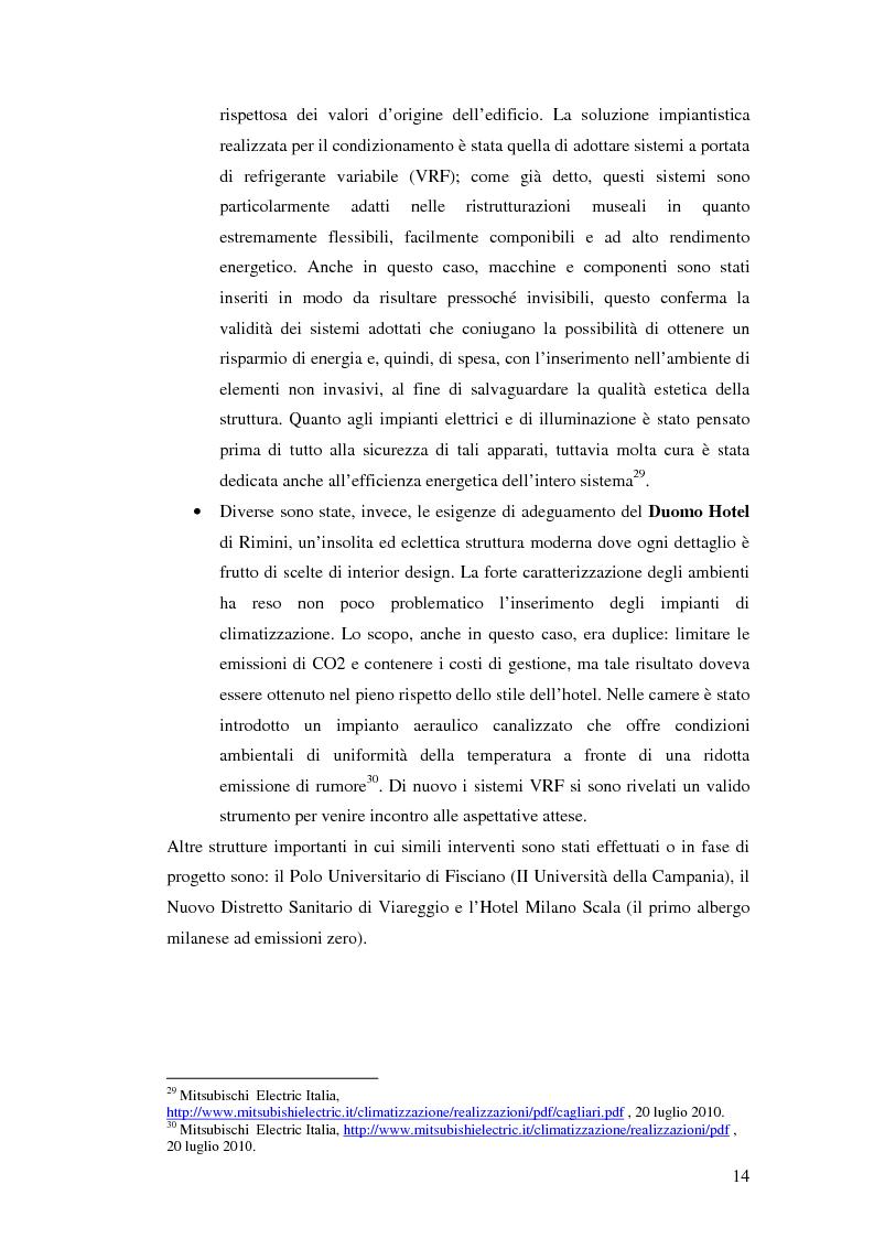 Anteprima della tesi: L'uso appropriato dell'energia nei musei, Pagina 12
