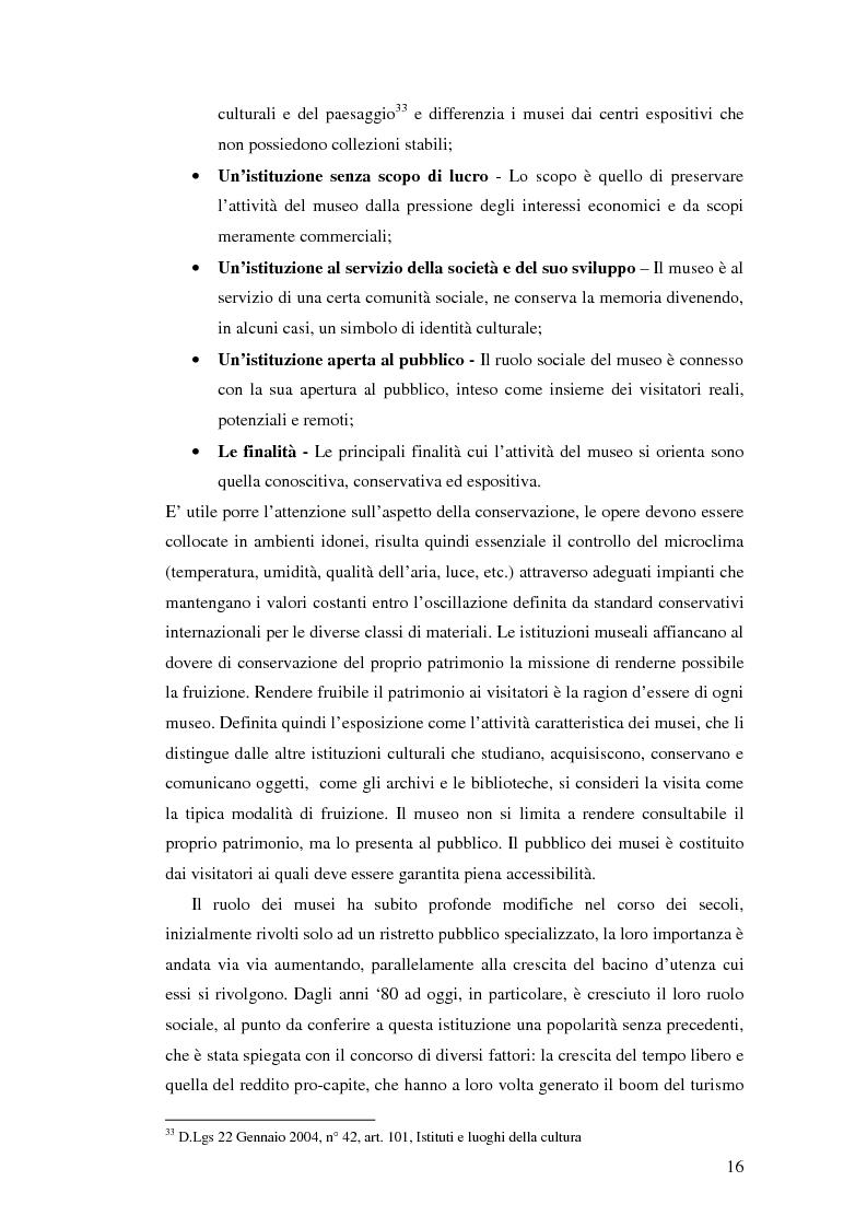 Anteprima della tesi: L'uso appropriato dell'energia nei musei, Pagina 14