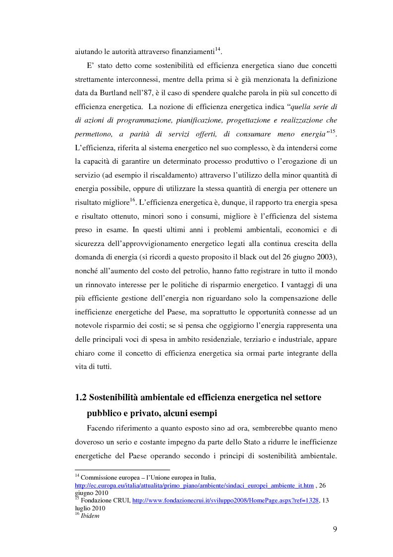 Anteprima della tesi: L'uso appropriato dell'energia nei musei, Pagina 7