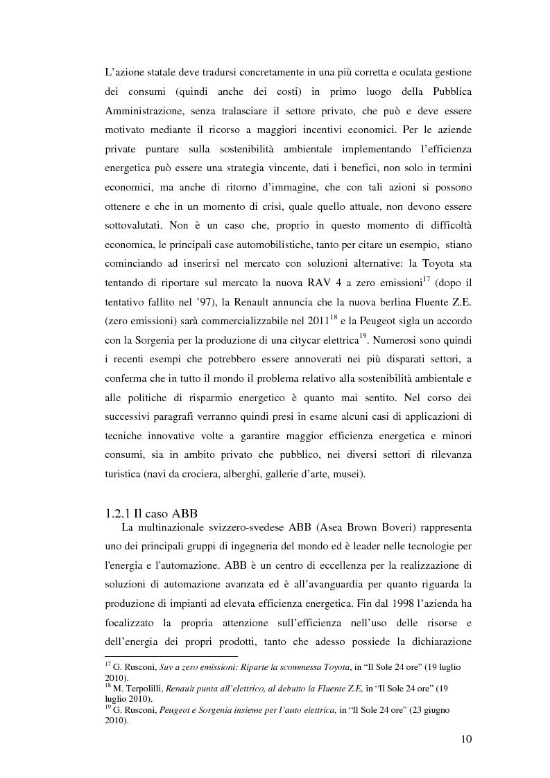 Anteprima della tesi: L'uso appropriato dell'energia nei musei, Pagina 8