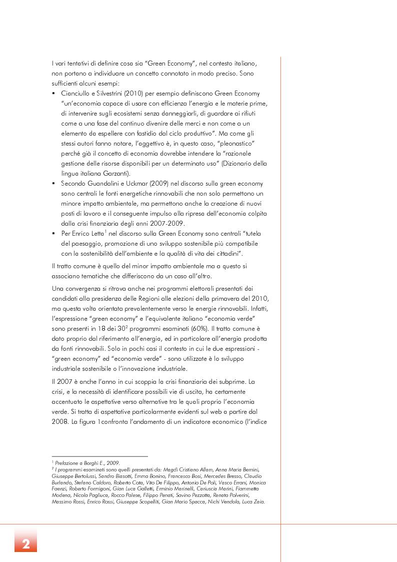 Anteprima della tesi: Un futuro per la Green Economy? Le politiche di sostegno all'economia verde, Pagina 3