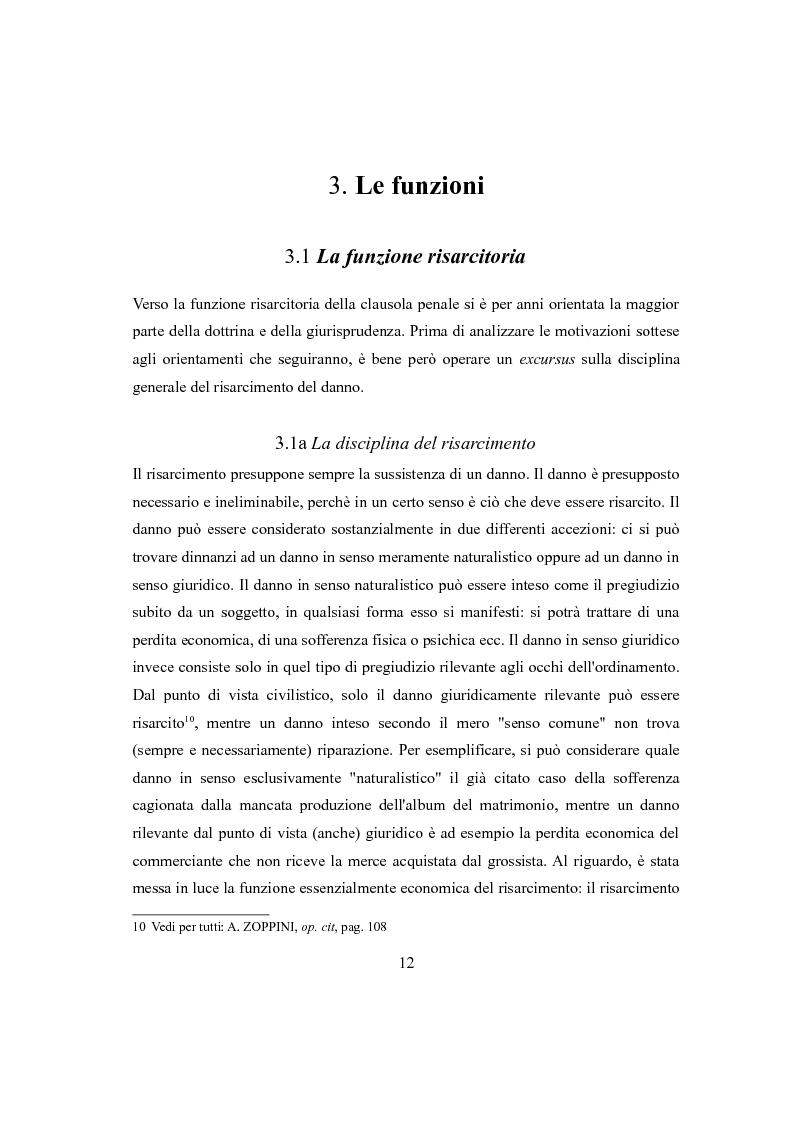 Anteprima della tesi: Clausola penale e caparra confirmatoria nei contratti con i consumatori, Pagina 10