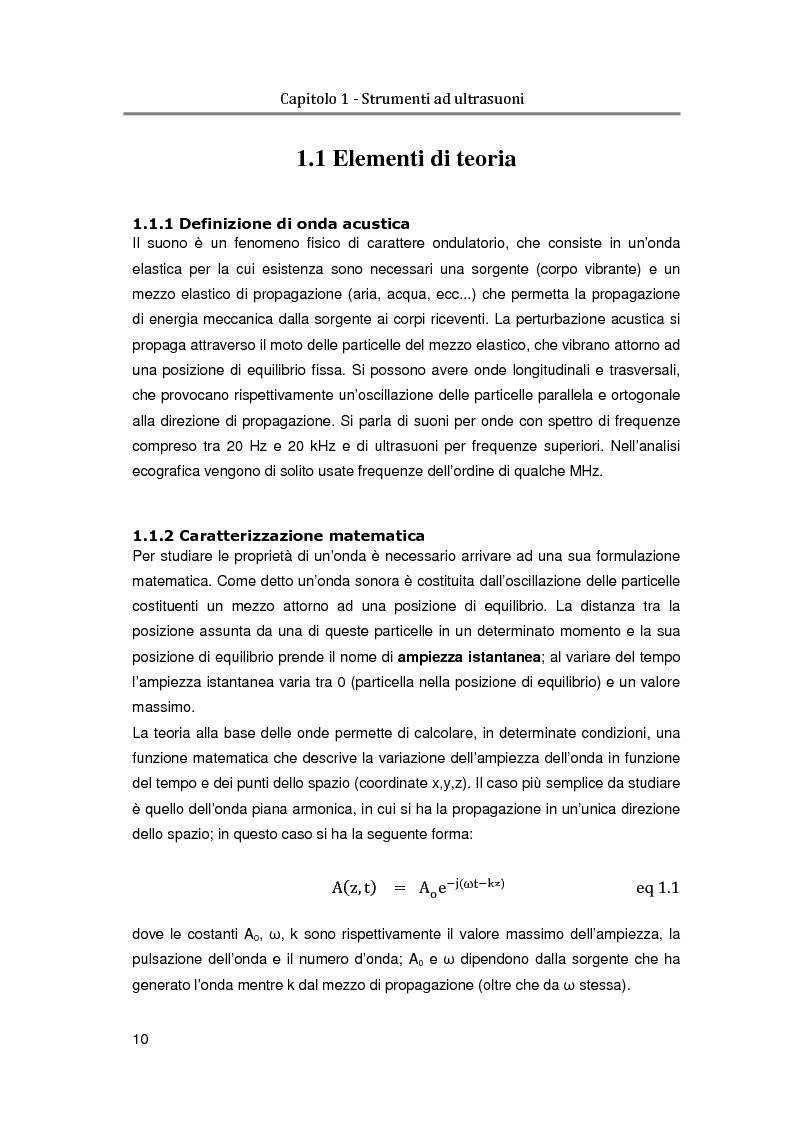 Anteprima della tesi: Realizzazione in linguaggio VHDL di un interpolatore per il beamformer di un ecografo sperimentale, Pagina 7