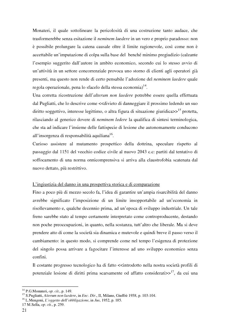 Anteprima della tesi: La risarcibilità del credito da morte del debitore nell'ordinamento italiano: un particolare sguardo alle vicende Superga e Meroni., Pagina 10