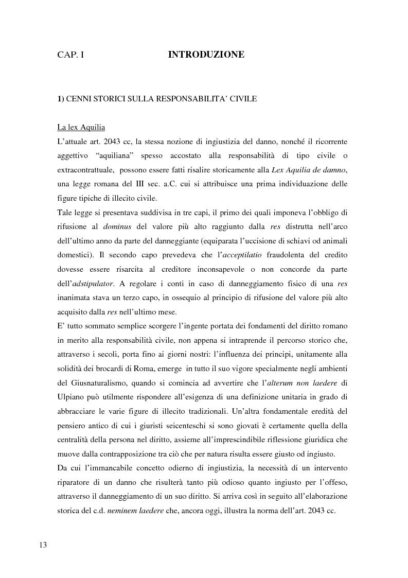 Anteprima della tesi: La risarcibilità del credito da morte del debitore nell'ordinamento italiano: un particolare sguardo alle vicende Superga e Meroni., Pagina 2