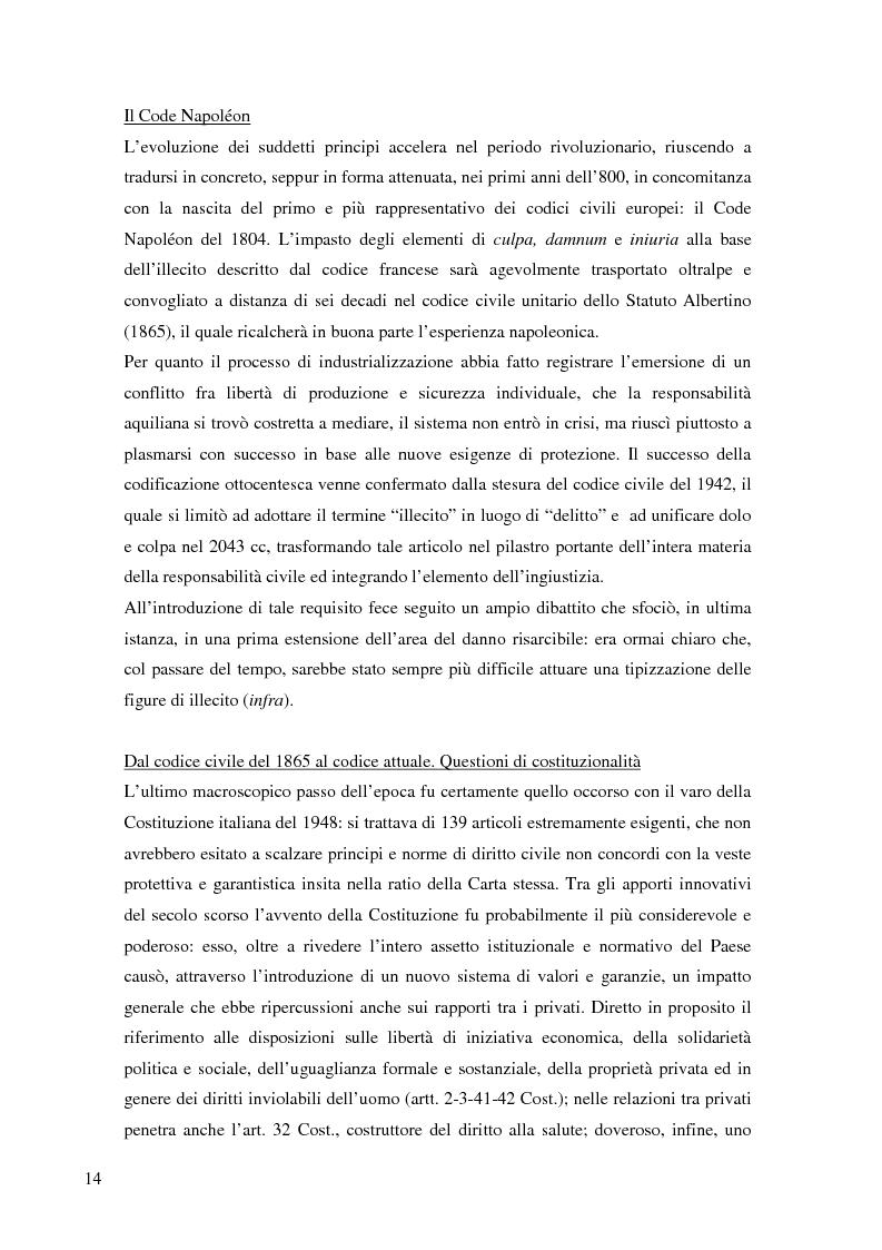 Anteprima della tesi: La risarcibilità del credito da morte del debitore nell'ordinamento italiano: un particolare sguardo alle vicende Superga e Meroni., Pagina 3