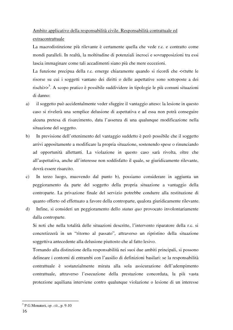 Anteprima della tesi: La risarcibilità del credito da morte del debitore nell'ordinamento italiano: un particolare sguardo alle vicende Superga e Meroni., Pagina 5