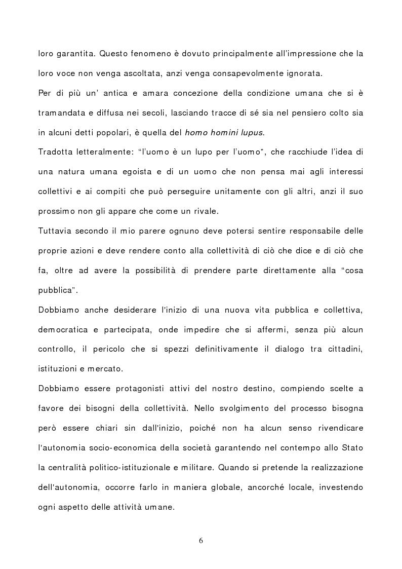 Anteprima della tesi: La comunicazione pubblica: da leva all'accesso alla P.A. a strumento per la democrazia partecipativa., Pagina 4