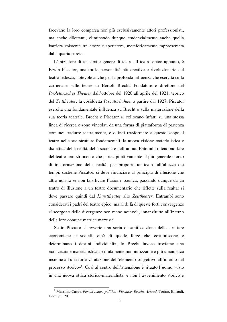 Anteprima della tesi: Il nazionalsocialismo nel teatro del tardo Brecht, Pagina 11