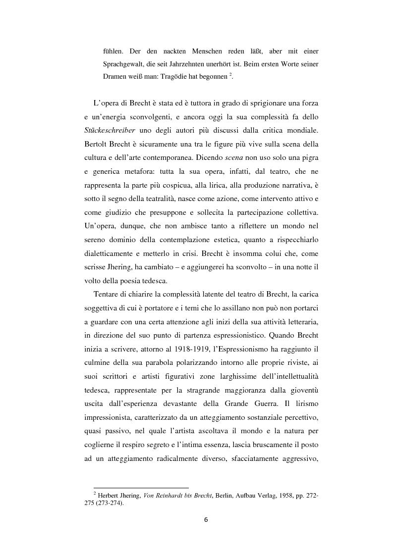 Anteprima della tesi: Il nazionalsocialismo nel teatro del tardo Brecht, Pagina 6