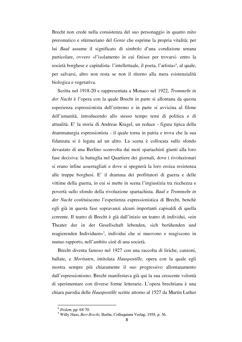 Anteprima della tesi: Il nazionalsocialismo nel teatro del tardo Brecht, Pagina 8