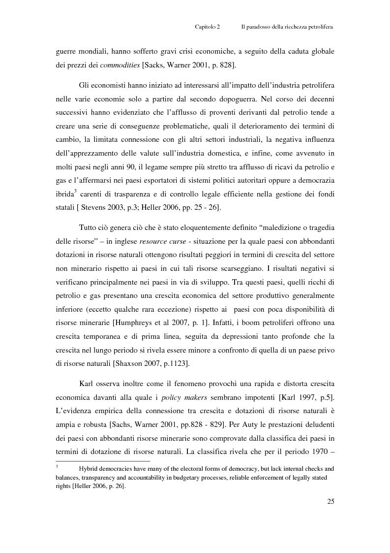 Anteprima della tesi: Gli investimenti Eni in Congo Brazzaville: trade-off tra profitti e protezione dell'ambiente e della società civile, Pagina 3