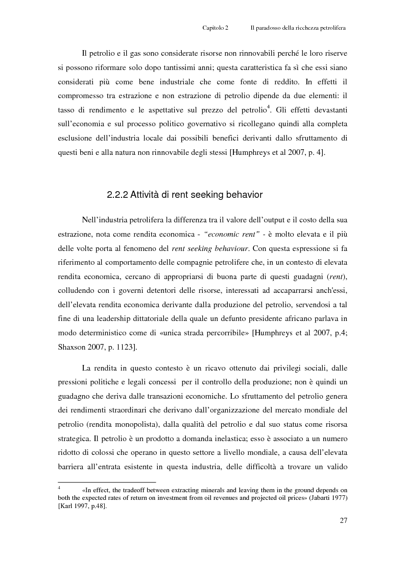 Anteprima della tesi: Gli investimenti Eni in Congo Brazzaville: trade-off tra profitti e protezione dell'ambiente e della società civile, Pagina 5