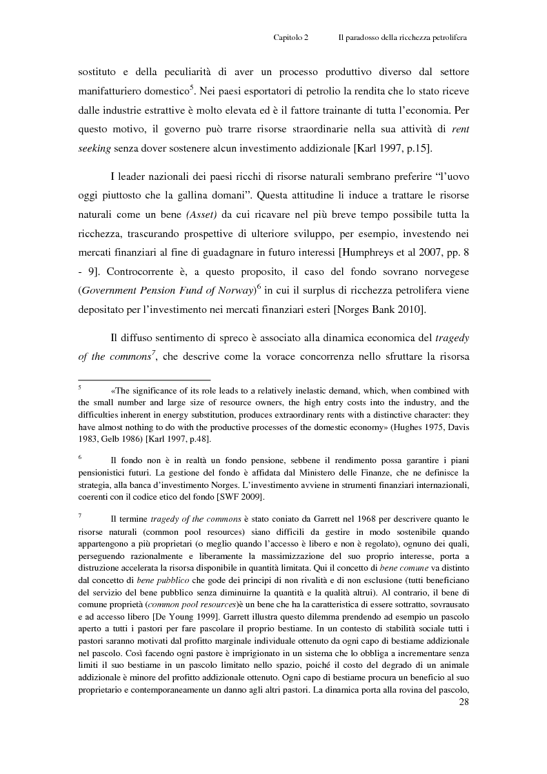 Anteprima della tesi: Gli investimenti Eni in Congo Brazzaville: trade-off tra profitti e protezione dell'ambiente e della società civile, Pagina 6