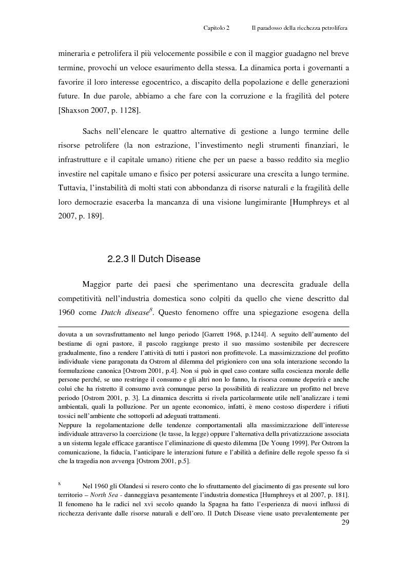 Anteprima della tesi: Gli investimenti Eni in Congo Brazzaville: trade-off tra profitti e protezione dell'ambiente e della società civile, Pagina 7