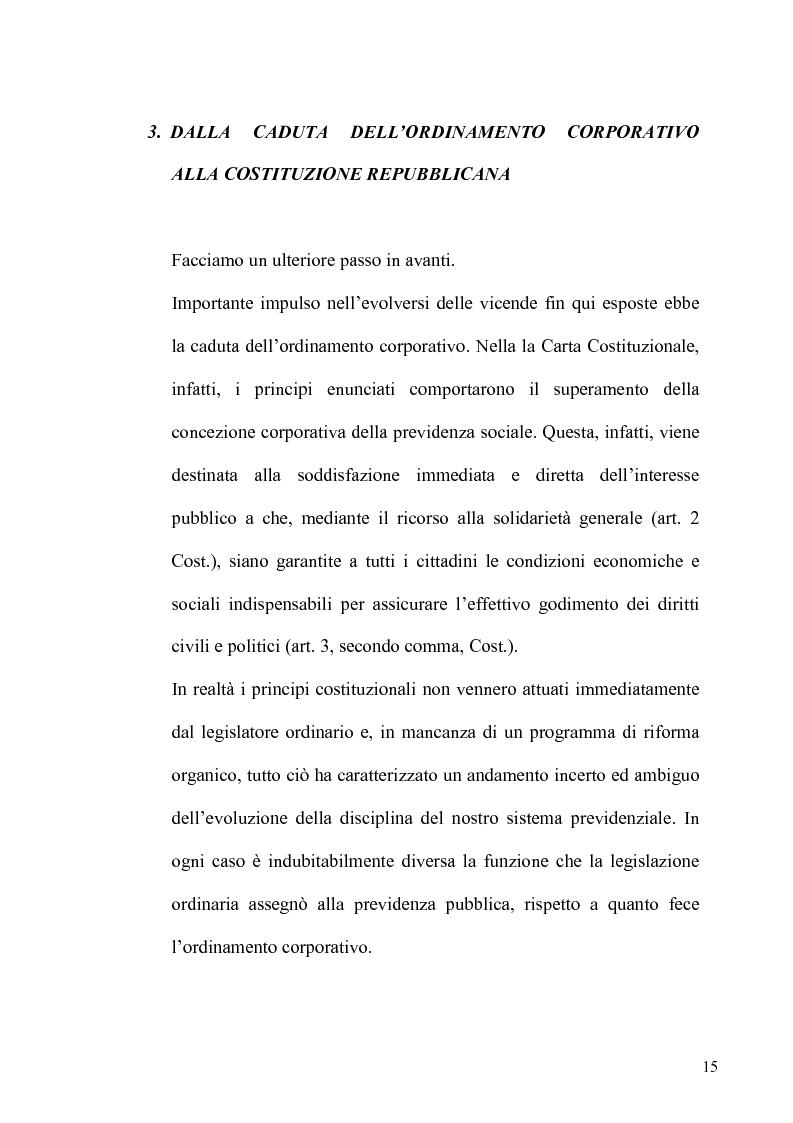 Anteprima della tesi: Regime fiscale della previdenza complementare, Pagina 16